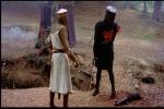 Luta contra o temível cavaleiro negro