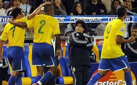 Brasil e Argentina em Rosário