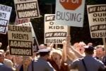Protesto contra a integração