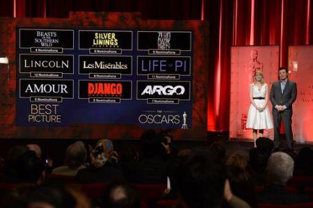 Indicados - Oscar 2013