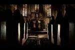 Visual sombrio do convento