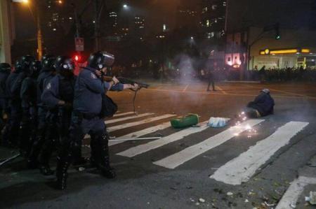 Protestos em SP