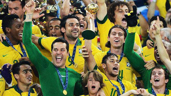 Brasil Campeão Copa das Confederações