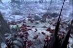 Corpos caídos no campo de batalha