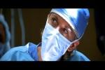Momento crítico da primeira cirurgia