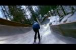 Fuga de Bond num esqui