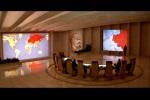 Sala de reuniões dos generais soviéticos