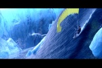 Bond surfa numa avalanche