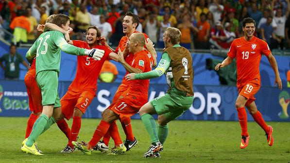 Holanda x Costa Rica