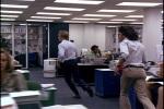 Bernstein e Woodward correndo pela redação