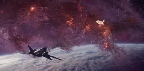 cena do espaço